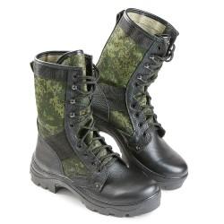 Ботинки кожаные с выс. берцем КМФ